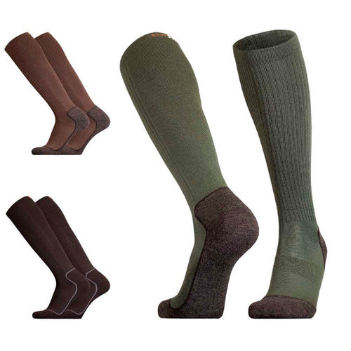 UphillSport Aarea Hunting & Fishing 4-layer Active Fit M5 Sock with Merino