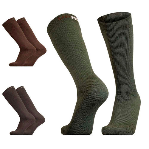 UphillSport Inari Hunting & Fishing H5 Extra Thick Active Fit Boot Sock with Merino