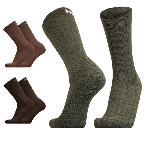 UphillSport Kaldo Hunting & Fishing H5 Thick and Durable Boot Sock with Merino