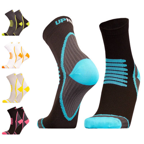 UphillSport Tour Cycling L1 enforced heel and toe sock with Quick Dry