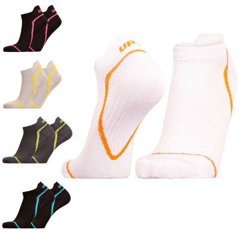 UphillSport Tour Cycling Low L1 enforced heel and toe sock with Quick Dry