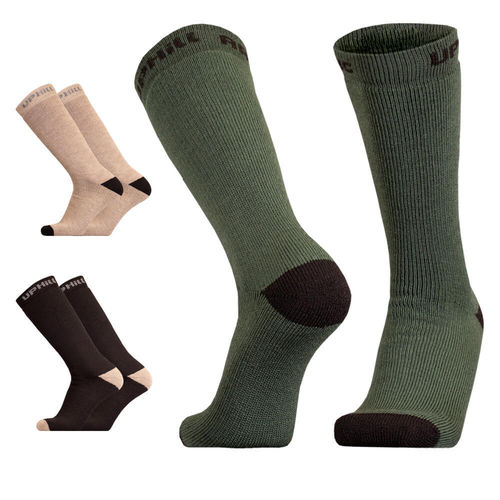 UphillSport Arctic Tactical H5 Extra Thick Active Fit Boot sock with Merino