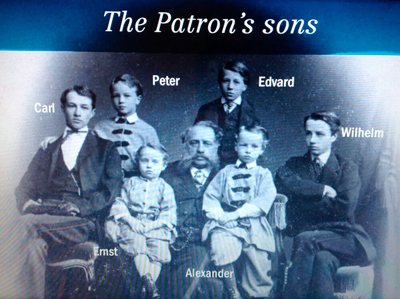 Picture 2: The Partron's sons von Nottbeck (from Milavida by Antti Kohvakka)